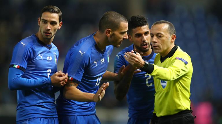 Италия победи САЩ в контрола, играна на белгийска земя. Европейският