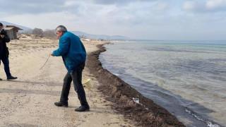 Унищожиха част от плажа на варненското село Казашко