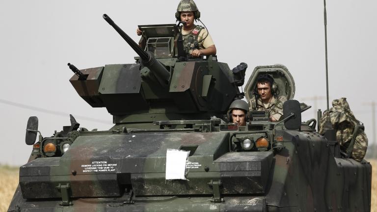 Турция започна военната операция в Сирия