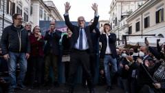 """Левицата печели кметските избори в Италия, """"Пет звезди"""" загуби Рим"""
