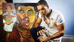 Боксьорът Джо Джойс се оказа и художник (СНИМКИ)