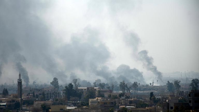 Джихадистите извършиха газова атака в Западен Мосул