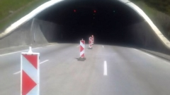 """Ремонтират тунела на """"Витиня"""" само през нощта"""