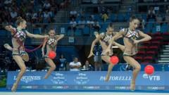 Българският ансамбъл грабна бронза на Световното по художествена гимнастика