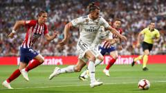 Реал - Атлетико 0:0 (Развой на срещата по минути)