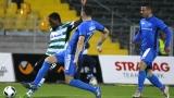 """НА ЖИВО: Черно море - Левски 1:0 - Александър Цветков наказа """"сините"""""""