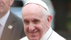 Продължава посещението на папа Франциск у нас
