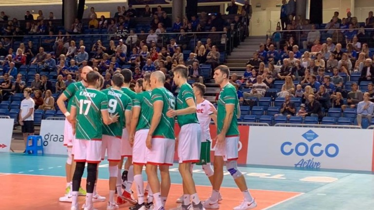 Волейболистите от националния отбор на България записа втора победа в