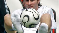 """Роналдо и Меси водят класацията за """"най-добър млад футболист"""" на Мондиал 2006"""