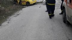 """Катастрофа блокира кръстовището на Околовръстното и бул. """"Цар Борис III"""""""