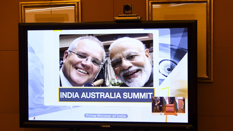 Индия и Австралия сключиха споразумение за достъп до военните си
