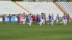 Локомотив (Пд) - Етър 2:0 (Развой на срещата по минути)