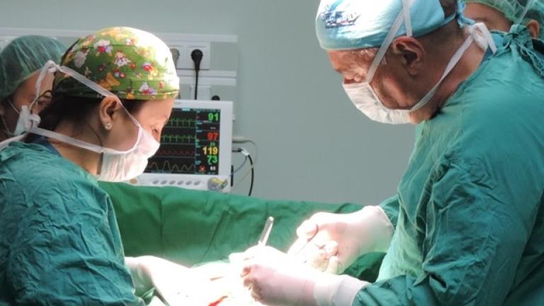 Във ВМА извадиха 18-килограмов тумор от корема на жена