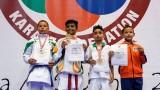 Пет медала за страната ни от най-масовия карате турнир в света!