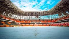 """Завърши реконструкцията на """"Екатеринбург Арена"""""""