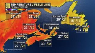 Канада в плен на адската жега