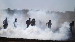 """Кюрдите изтласкаха """"Ислямска държава"""" от военна база в Сирия"""
