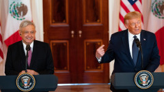 Мексиканският президент обвини Facebook и Twitter в цензура заради блокиранетона Тръмп