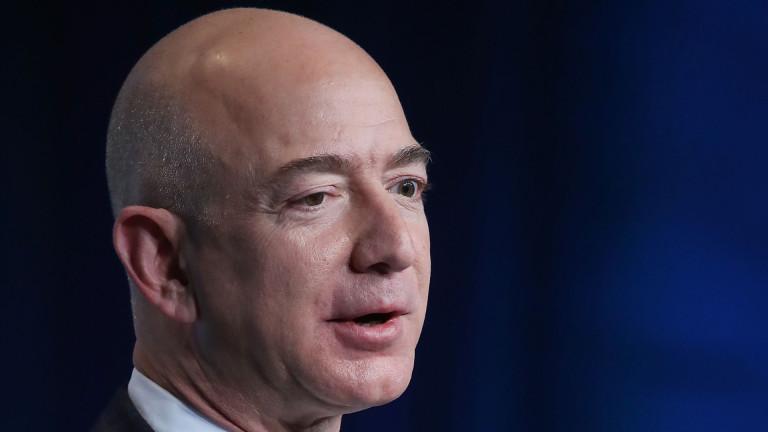 Състоянието на основателя на Amazon Джеф Безос достигна 150 милиарда