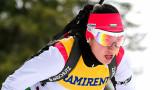 Биатлонистката Дафинка Коева участва в две щафети в рамките на три часа
