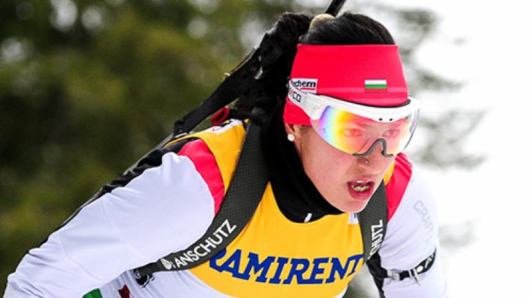 Българската биатлонистка Дафинка Коева участва в две щафети в рамките