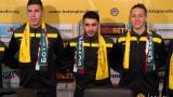 Ботев (Пловдив) представи трима нови