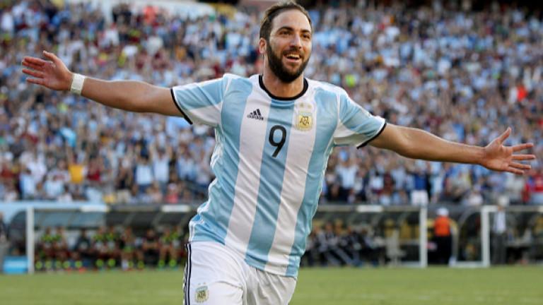 Гонсало Игуаин коментира получената повиквателна за националния отбор на Аржентина.