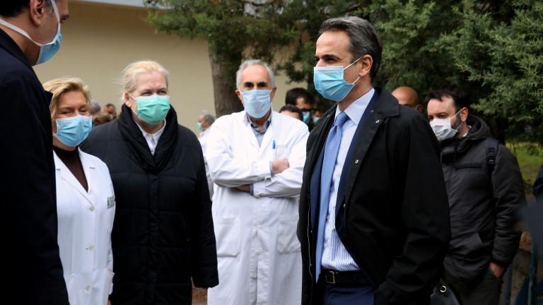 Гърция нареди на частните лекари да се включват в битката срещу COVID-19