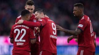 Байерн с нова победа, Борусия продължава без загуба (Резултати от Бундеслигата)