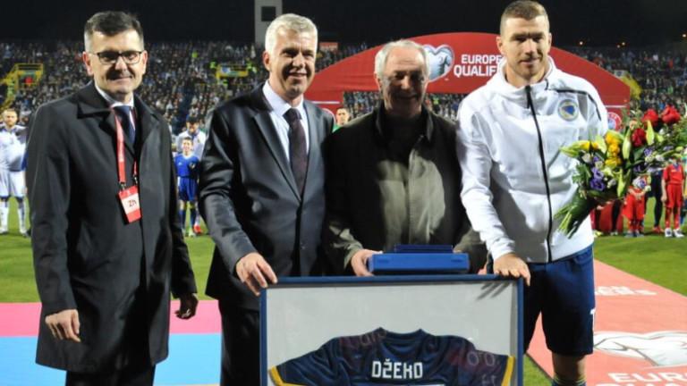 Един Джеко се превърна в първия играч на Босна и