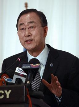 Бан Ки Мун призова Дамаск да не използва химическо оръжие
