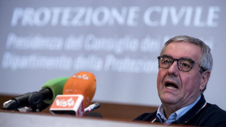 Националната блокада в Италия в опит да се спре разпространението