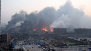 Експлозии разтърсиха китайски град - над 40 загинали, над 500 ранени