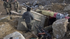 Проруските сепаратисти в Донбас нарушиха примирието 15 пъти за денонощие