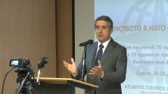 Само с НАТО има траен мир, сигурен Плевнелиев