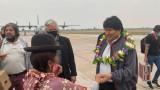 Моралес се завърна в Боливия