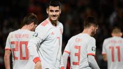 Испания победи Малта с 2:0 в квалификация за Евро 2020