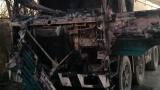 28 мигранти са открити в горящ камион край Резово