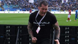 Въпреки забраната: Иван Велчев-Кюстендилеца присъствал на дербито с Левски