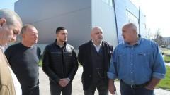 Бойко Борисов и Красен Кралев инспектираха спортната зала в Бяла