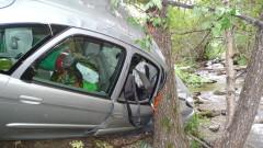 20-годишен шофьор се заби в дърво и загина в Добричко