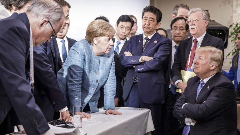 Меркел сряза Тръмп за нападките му срещу цветнокожите конгресменки