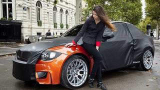 BMW 1 Series M Coupe се разголва