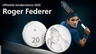 Швейцария ще пусне монетата с лика на Роджър Федерер