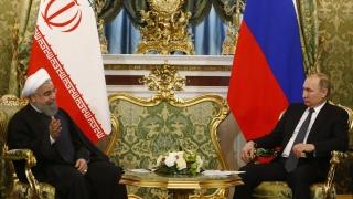 Путин и Рохани смятат за неприемливи агресивните действия САЩ в Сирия