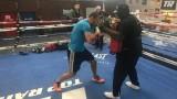 Тервел Пулев тренира с Бърмейн Стивърн в Лас Вегас