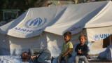 Настаняват в палатки мигрантите от изгорелия лагер на о. Лесбос