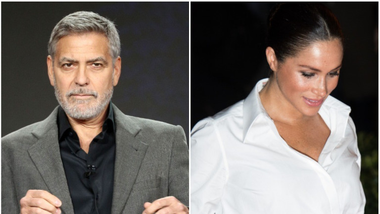 Защо Джордж Клуни е притеснен за Меган Маркъл