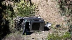Високата скорост е виновна за катастрофата на Тайгър Уудс