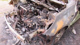 Четири коли са обгорени в Бургас тази нощ